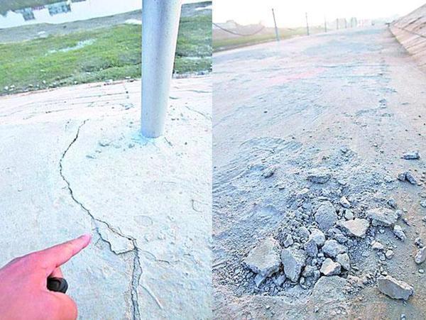 ■唸声中国/河の堤防もオカラ工事でボロボロ、おまけに建設途上