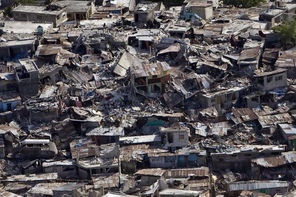 ■唸声ハイチ/航空写真によるハイチ大地震 - 唸声のブログ 唸声のブログ ■唸声ハイチ/航空写真